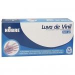 Luvas Vinil M com pó